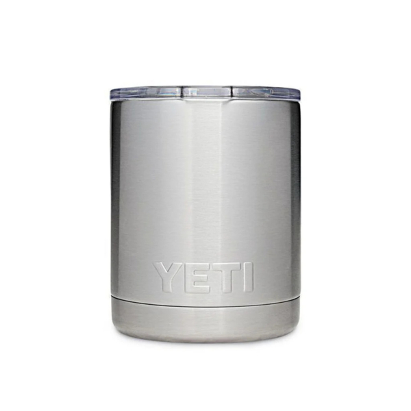 YETI Rambler Lowball Cup Stainless Steel