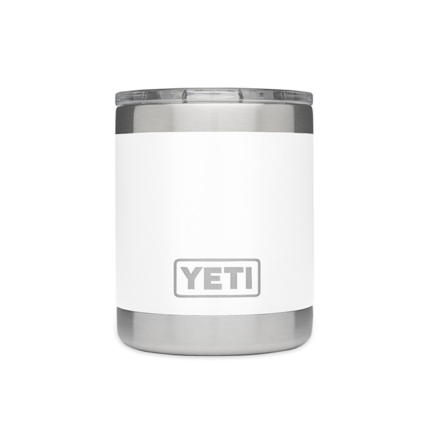 YETI Rambler Lowball Cup White
