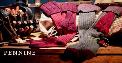 Selection of Pennine Shooting Socks & Garters