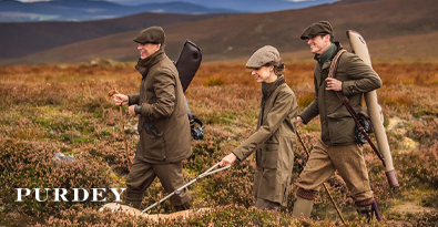 Shooting Expedition Wearing James Purdey Jackets, Caps & Trousers