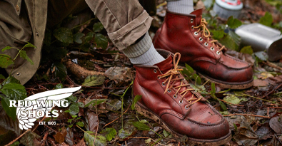 Wearing Red Wing Classic Brown Leather Boots