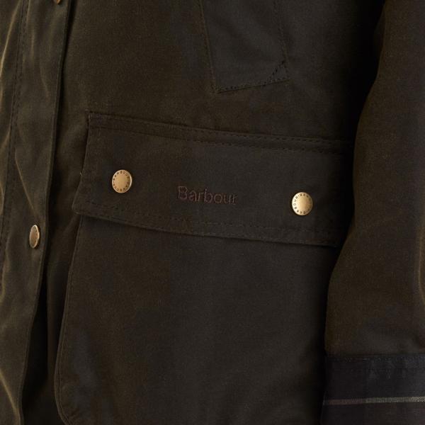 Barbour Acorn Wax Jacket Olive