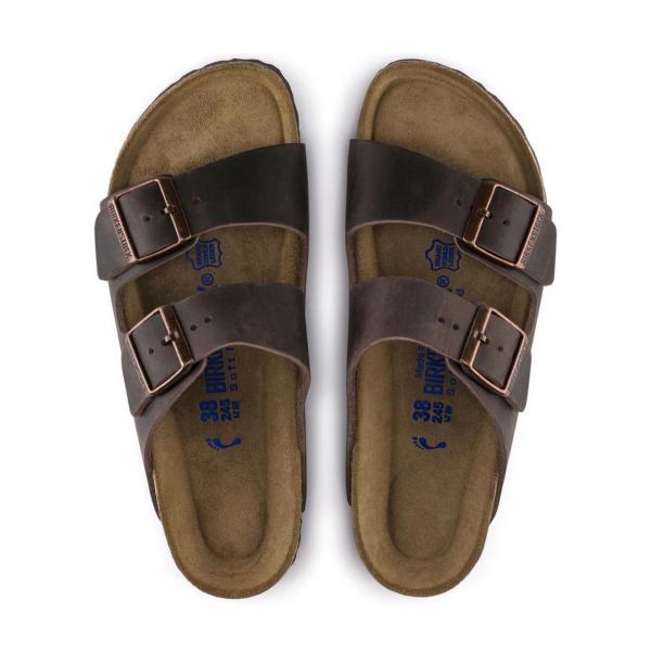 Birkenstock Arizona Soft Footbed Sandal Oiled Habana