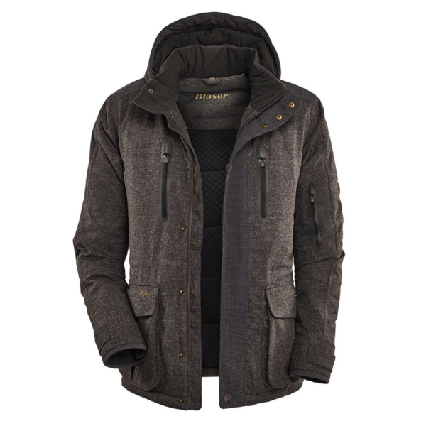 Blaser Graphite Jacket Grey Brown Mottled