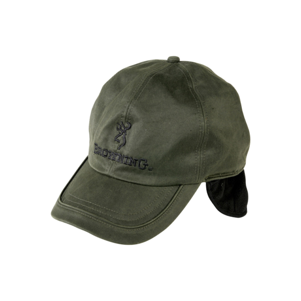 Browning Winter Wax / Fleece Cap Green