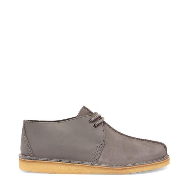 Clarks Originals Desert Trek Shoes Blue Grey Combi