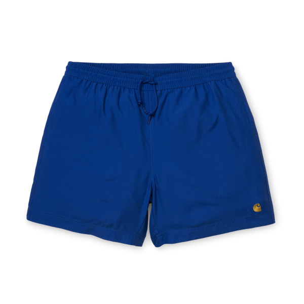Carhartt Chase Swim Trunks Submarine / Gold