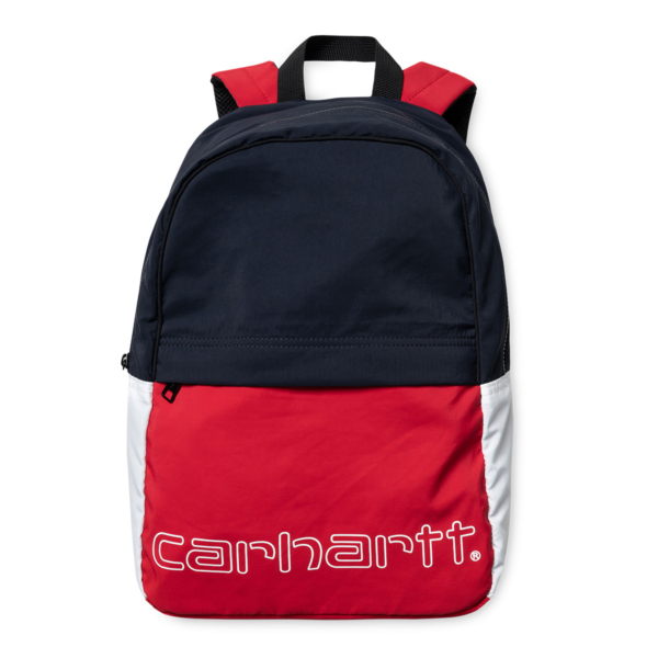Carhartt Terrace Backpack Cardinal / Dark Navy / White