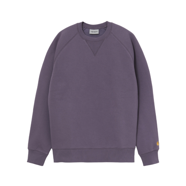 Carhartt Chase Sweat Provence / Gold