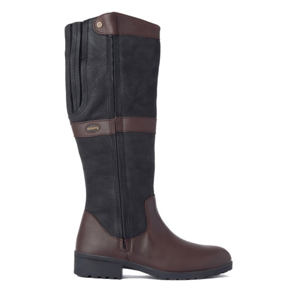 Dubarry Womens Sligo Boot Black / Brown