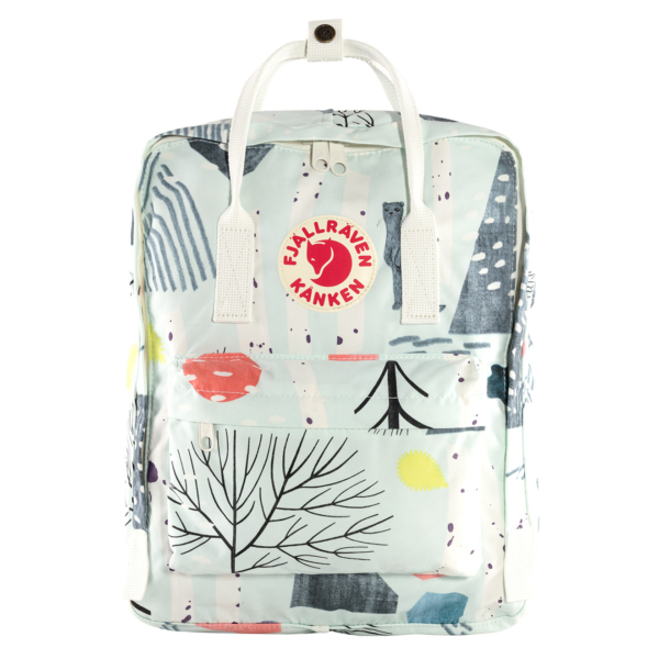 Fjallraven Kanken Art Classic Backpack Birch Forest