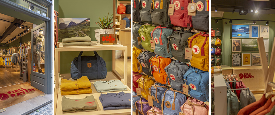 Fjallraven Manchester Store on Old Bank Street