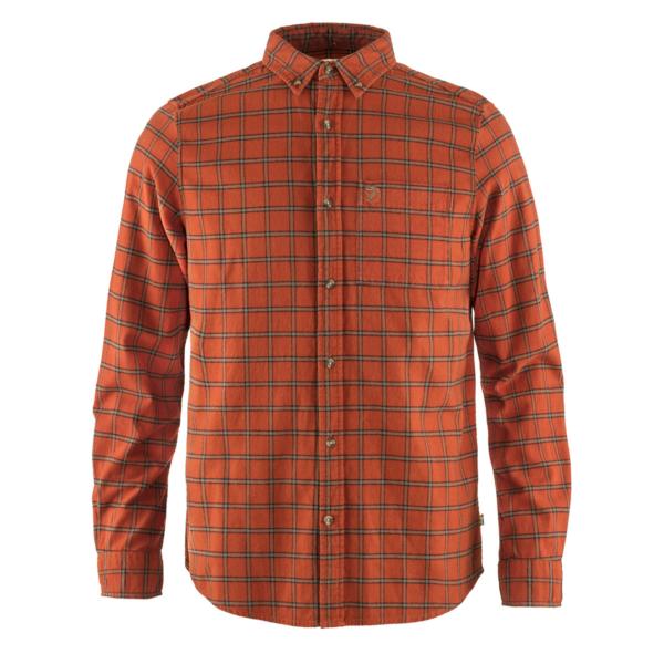 Fjallraven Ovik Flannel Shirt Autumn Leaf
