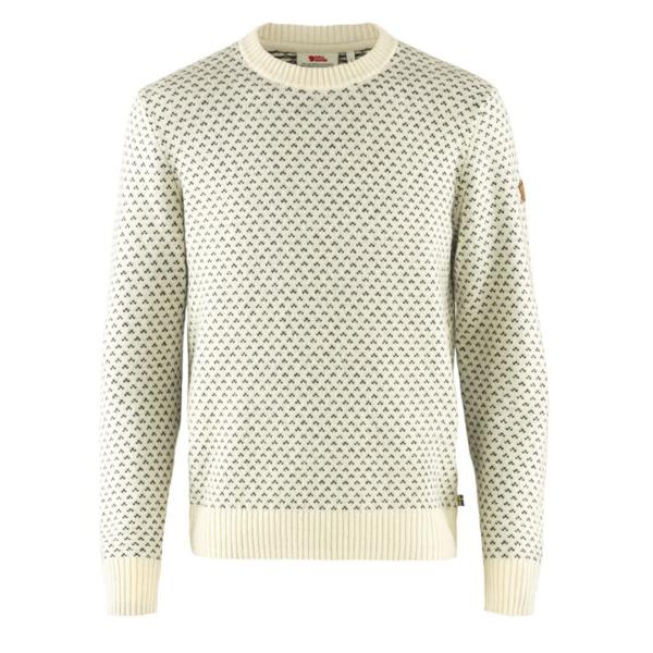 Fjallraven Ovik Nordic Sweater Chalk White