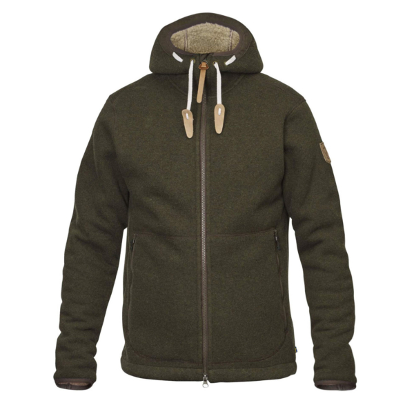 Fjallraven Polar Fleece Jacket Dark Olive
