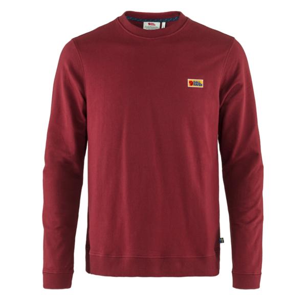 Fjallraven Vardag Sweater Red Oak