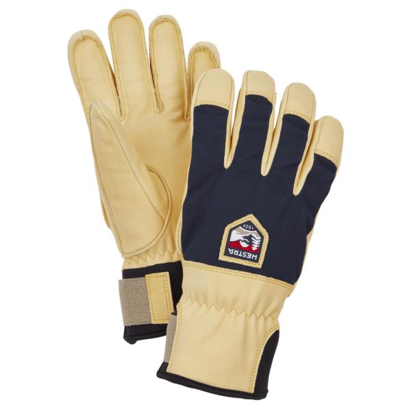 Hestra Sarek Ecocuir Gloves Navy
