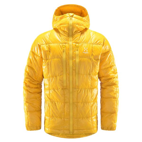 Haglofs Roc Mimic Hood Jacket Pumpkin Yellow