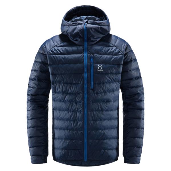 Haglofs Spire Mimic Hood Jacket Tarn Blue