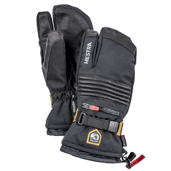 Hestra All Mountain CZone 3 Finger Glove Black