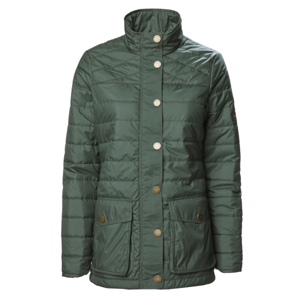Musto Womens Edinburgh Primaloft Quilted Jacket Scarab Green
