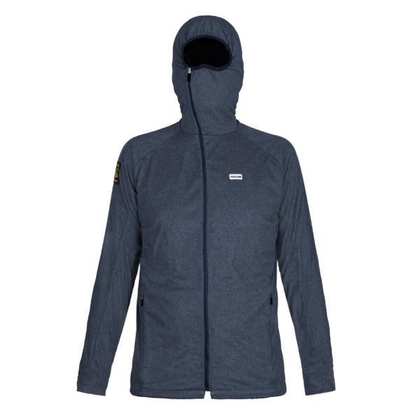 Paramo Ostro Fleece Jacket Indigo Blue Marl