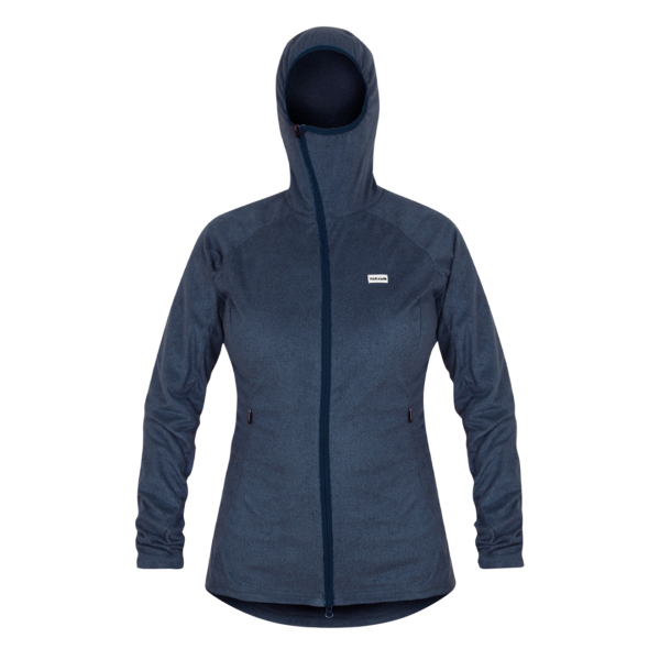 Paramo Womens Alize Fleece Jacket Indigo Blue Marl