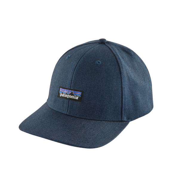 Patagonia Tin Shed Hat P-6 Logo Ink Blue