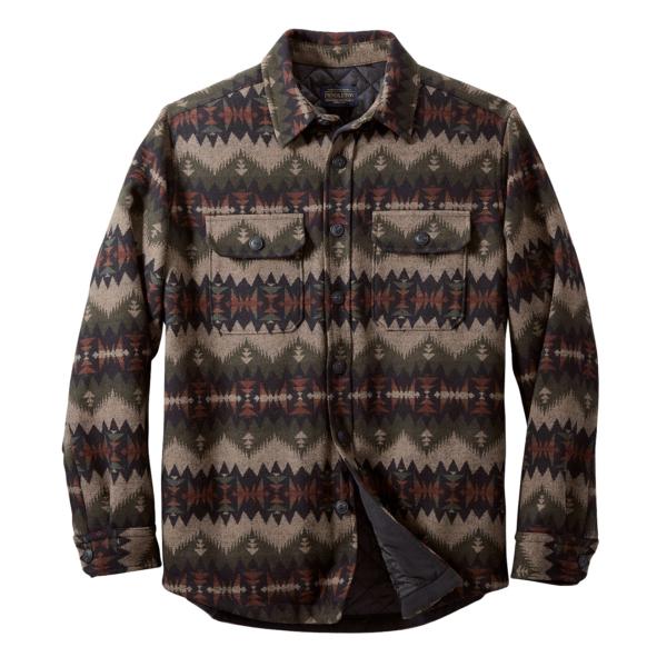 Pendleton Jacquard CPO Jacket Sonora Olive