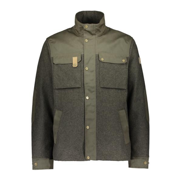 Sasta Tervas Jacket Overshirt Dark Olive