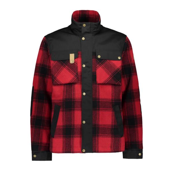 Sasta Tervas Jacket Overshirt True Red