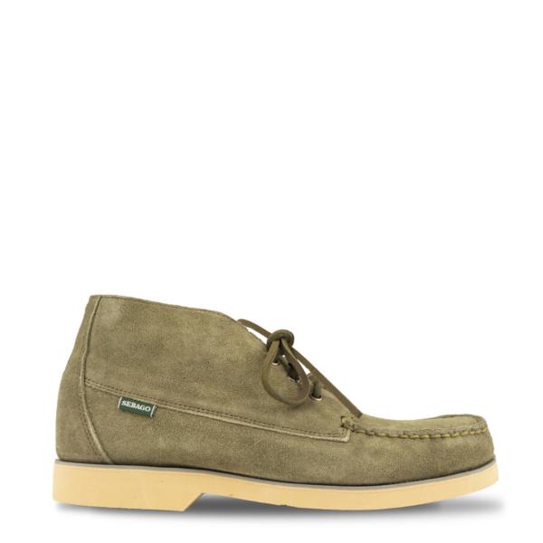 Sebago Tatanka Suede Boot Olive