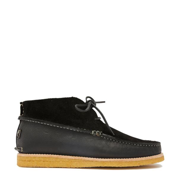 Yogi Lucas Suede / Leather Crepe Shoe Black