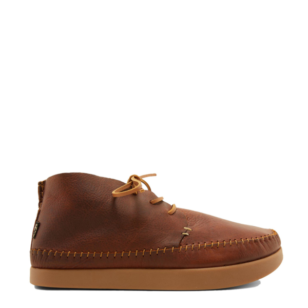 Yogi Silas Tumbled Leather Shoe Chestnut Brown
