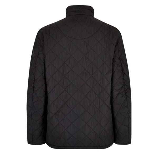 Barbour Chelsea Sports Quilt Jacket Black Back
