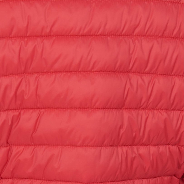 Barbour Womens Runkerry Jacket Ocean Red Baffle Quilt Design
