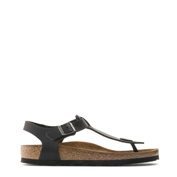 Birkenstock Womens Kairo Sandal Oiled Leather Black