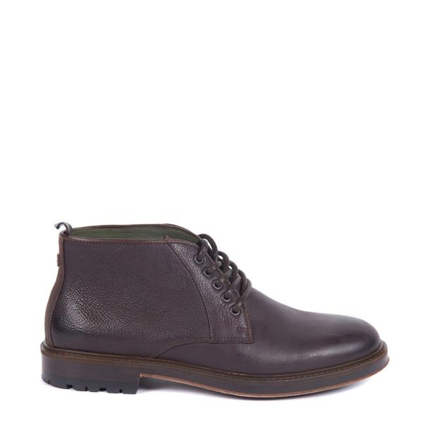 Barbour Derwent Chukka Boot Dark Brown