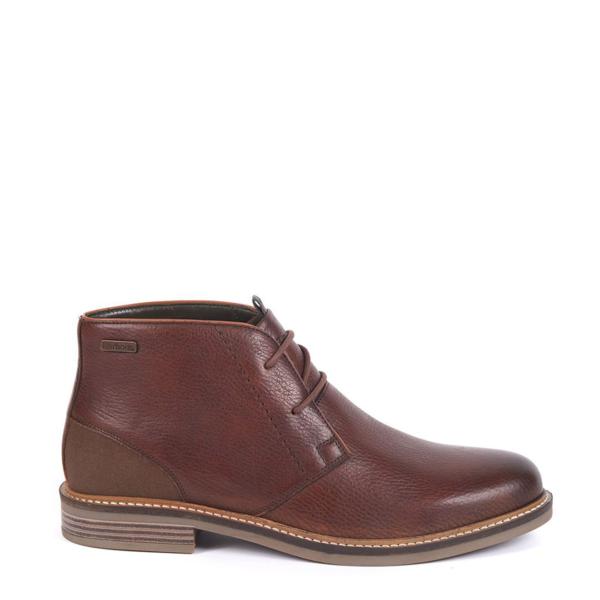 Barbour Readhead Chukka Boots Dark Brown