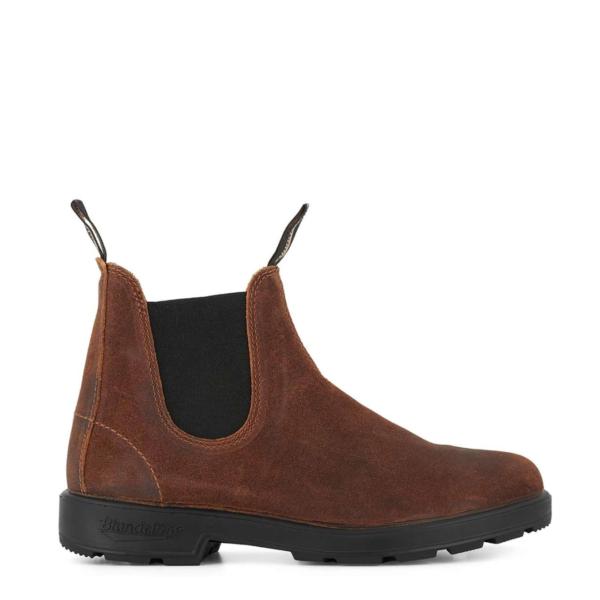 Blundstone Original Chelsea Boot Wax Suede Brown