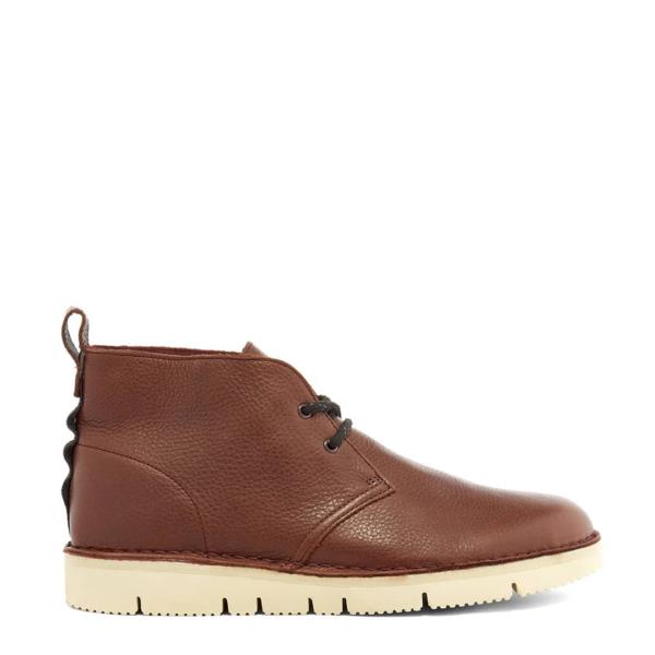 Clarks Originals Leather Desert Boot 2.0 Burgundy