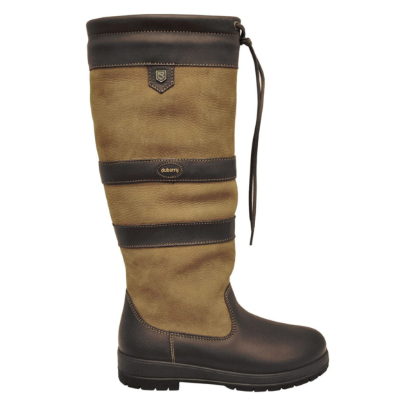 Dubarry Womens Galway Gortex Leather Boot Brown