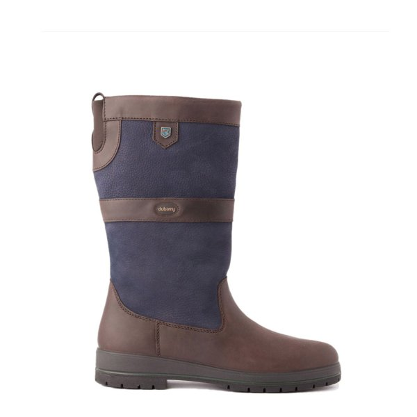 Dubarry Womens Kildare Leather Boot Navy / Brown