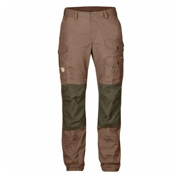 Fjallraven Womens Vidda Pro Trousers Dark Sand / Dark Olive