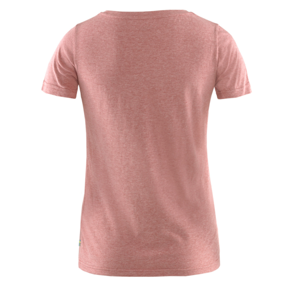 Fjallraven Womens 1960 Logo T-Shirt Raspberry / Red Melange