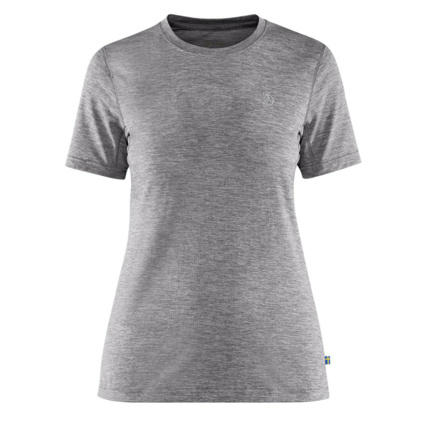 Fjallraven Womens Abisko Day Hike T-Shirt Shark Grey