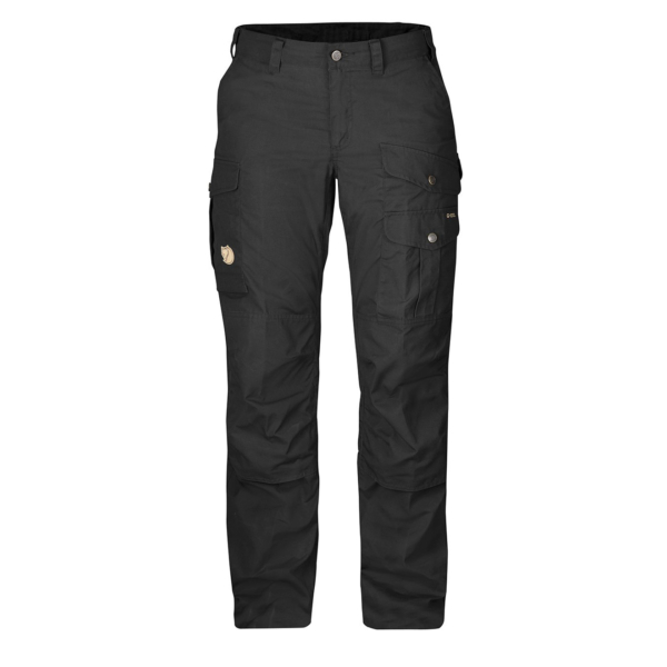 Fjallraven Womens Barents Pro Trousers Reg Leg Black / Black