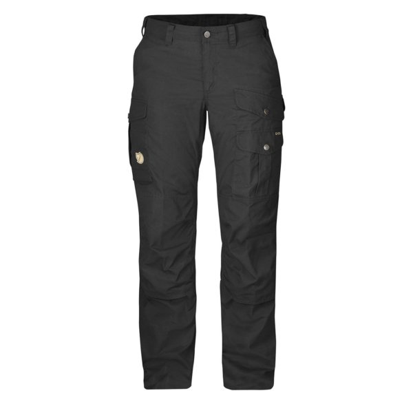 Fjallraven Womens Barents Pro Trousers Short Leg Black/Black