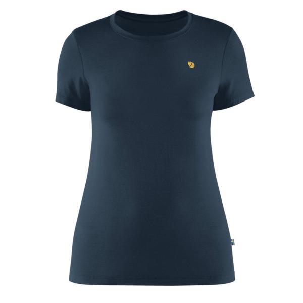 Fjallraven Womens Bergtagen Thinwool SS Base Layer T-Shirt Mountain Blue