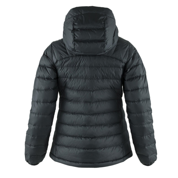 Fjallraven Womens Expedition Pack Down Hoodie Black